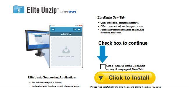 Get rid of Elite Unzip Toolbar - VirusPup