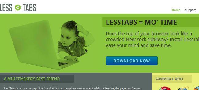 LessTabs