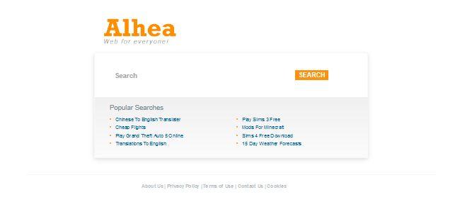 How to Remove Alhea.com hijacker