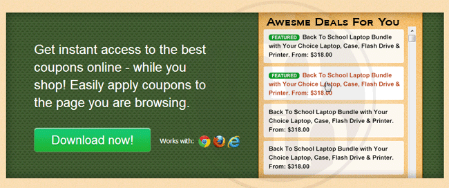 Awesome deals for you