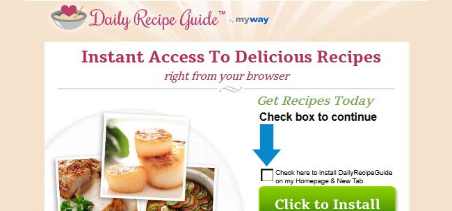 Daily Recipe Guide