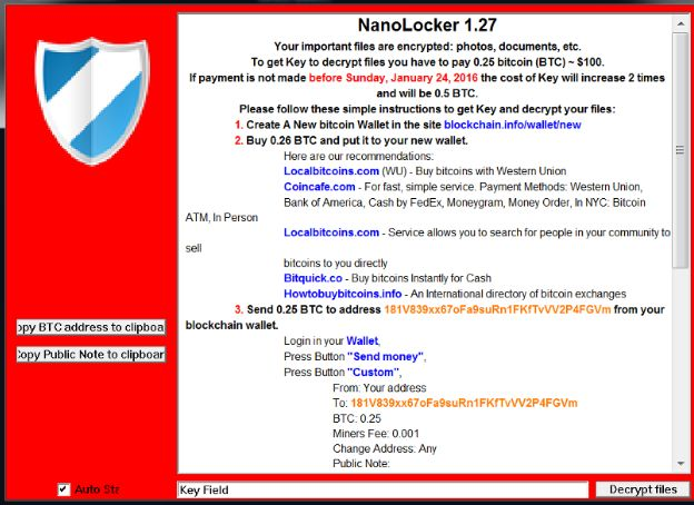 NanoLocker