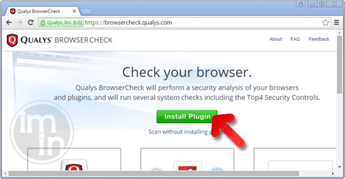 Install Browser Check Plugin