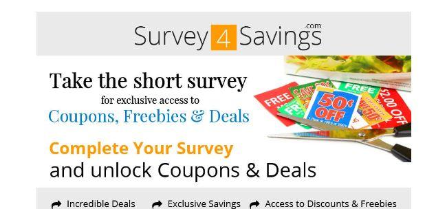 Survey4Savings