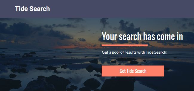 Tide Search