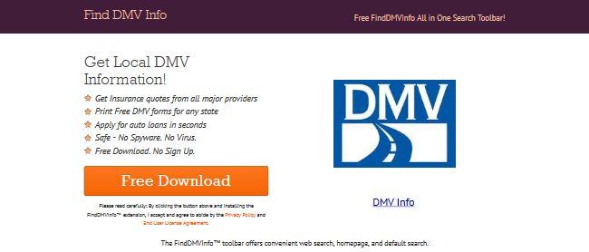 Find DMV Info
