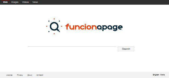 Funcionapage Search
