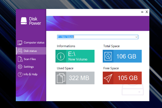 Disk Power
