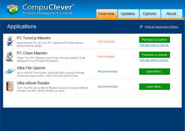 Program Management Console