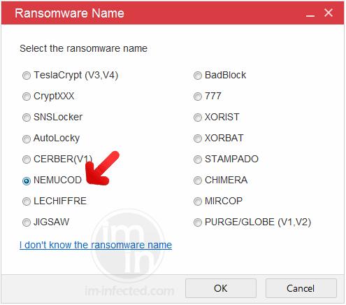 Select Nemucod