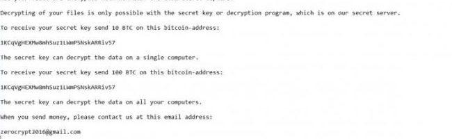 ZeroCrypt