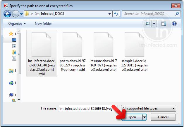 Select XTBL Files