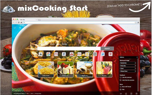 mixCooking Start