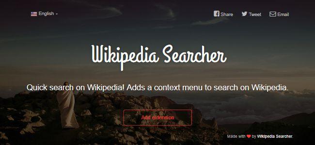 Wikipedia Searcher