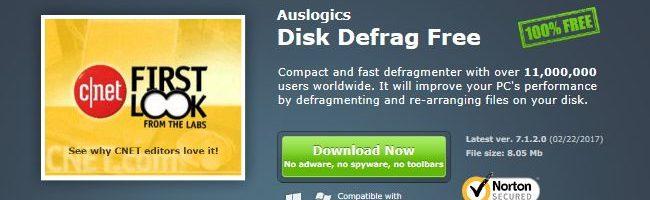 Disk Defrag Free