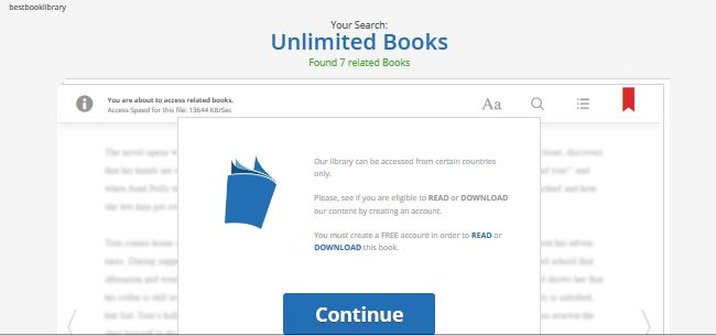 Remove Best Book Library Ads - VirusPup