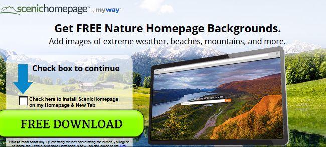 ScenicHomepage