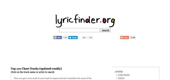 Lyricfinder.org