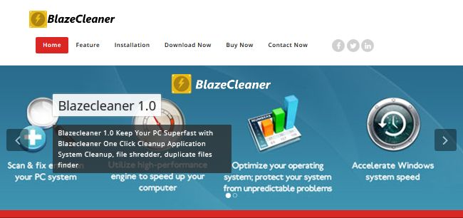 BlazeCleaner