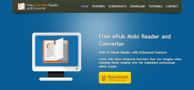 Free ePub Mobi Reader and Converter