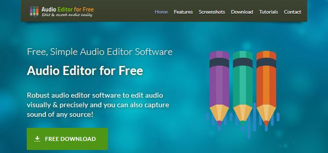 Audio Editor for Free