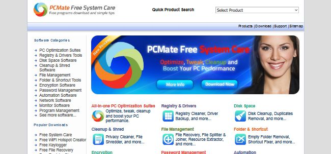 PCMate Free System Care