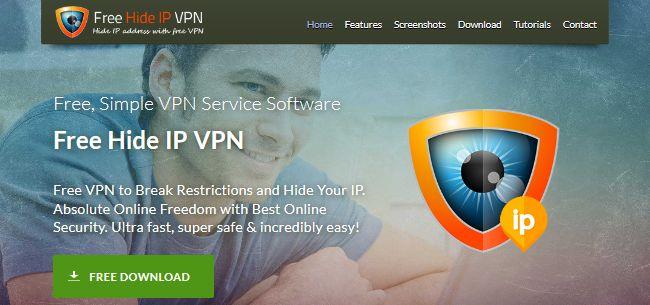 Free Hide IP VPN