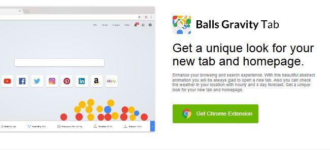 Balls Gravity Tab