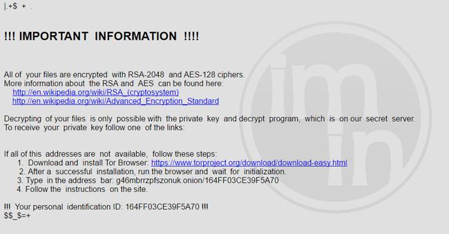 CryptoByte Ransomware