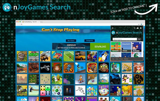 nJoyGames Search