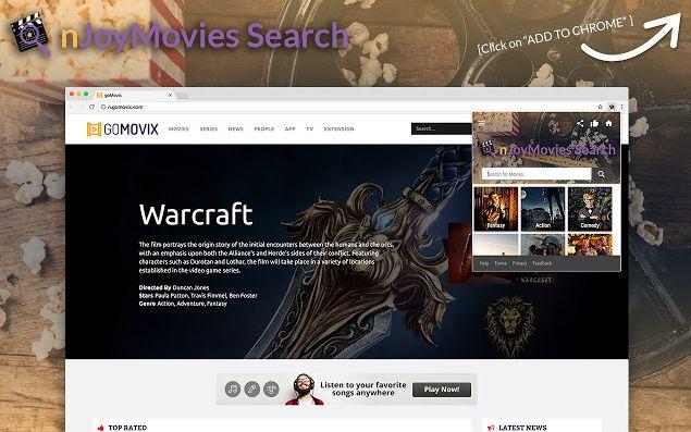 nJoyMovies Search