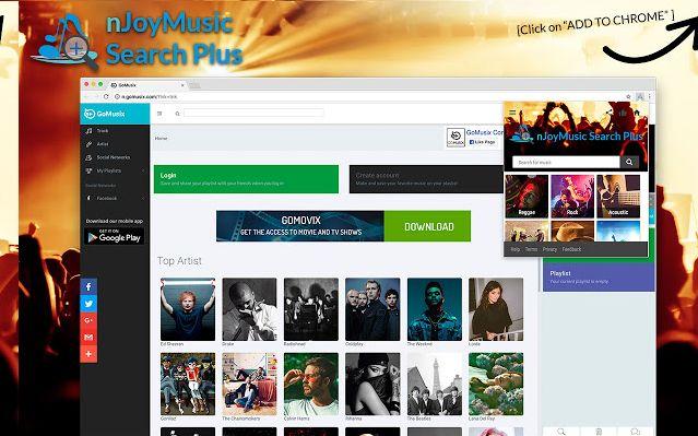 nJoyMusic Search Plus