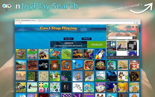 nJoyPlay Search