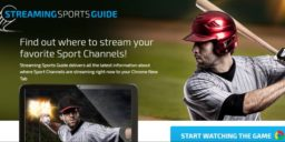 Streaming Sports Guide