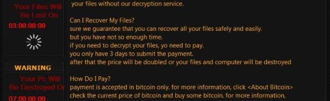 Wana Decrypt0r Trojan-Syria