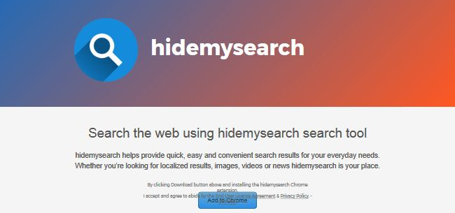 HideMySearch