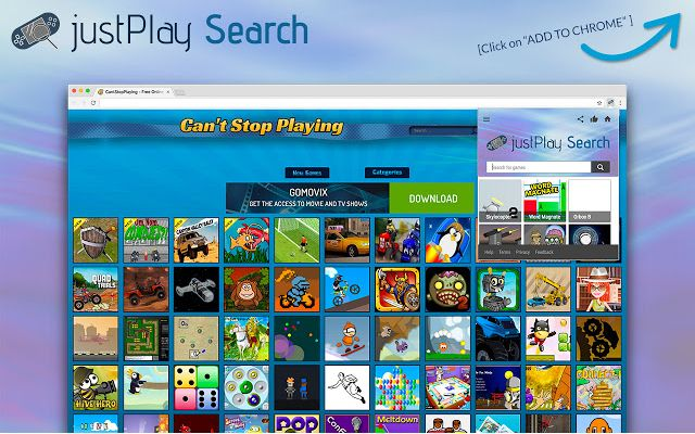 justPlay Search