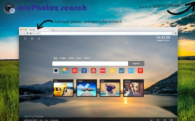 mixPhotoz Search