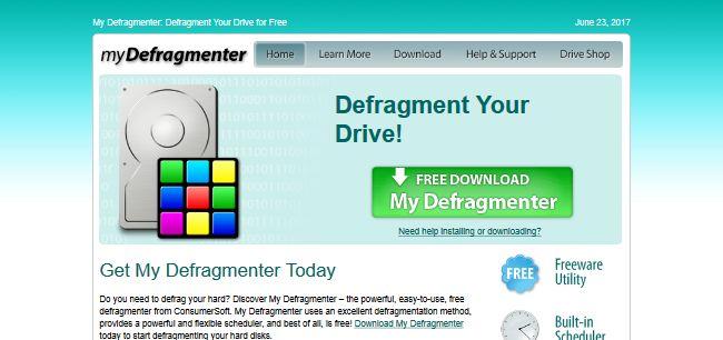 My Defragmenter