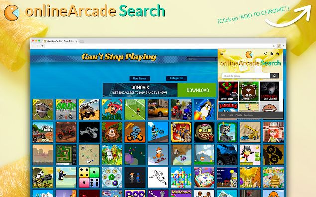 onlineArcade Search