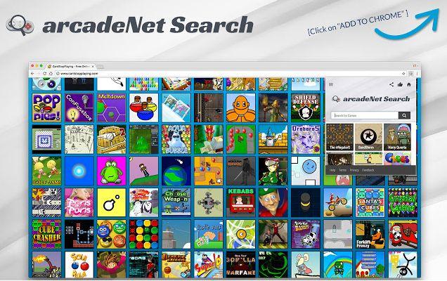 ArcadeNet Search