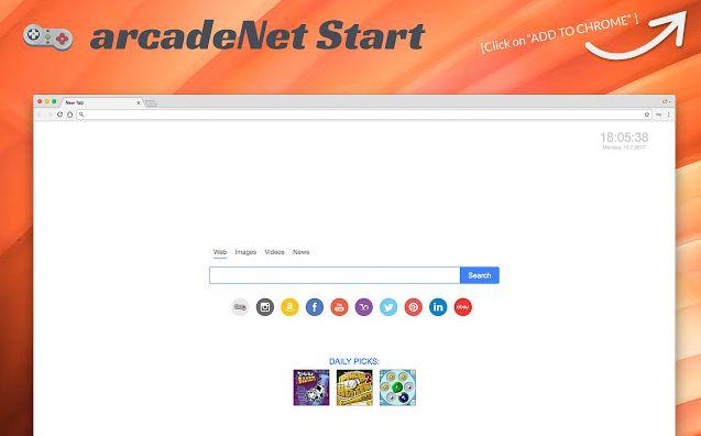 ArcadeNet Start