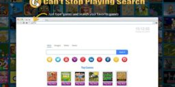 Can't Stop Playing Search