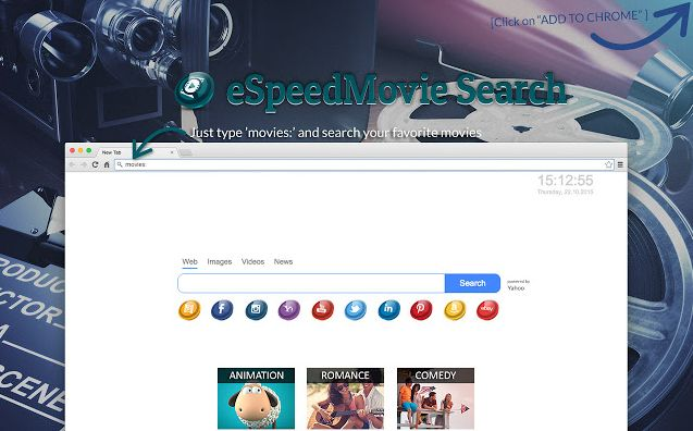 eSpeedMovie Search