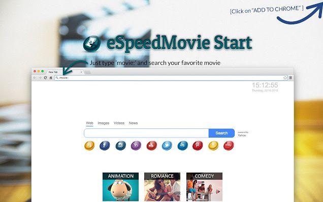 eSpeedMovie Start