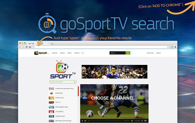 GoSportTV Search