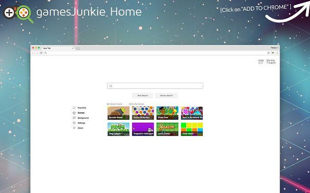 GamesJunkie Home