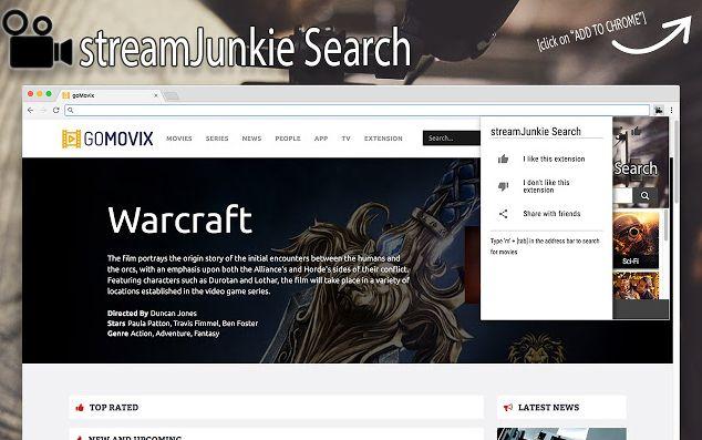 StreamJunkie Search