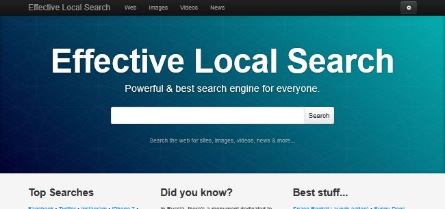 Effective Local Search