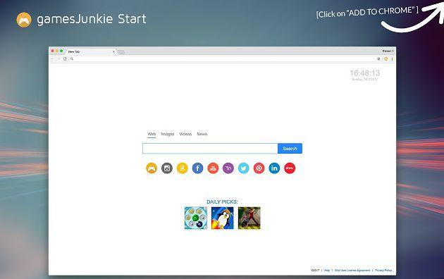 GamesJunkie Start